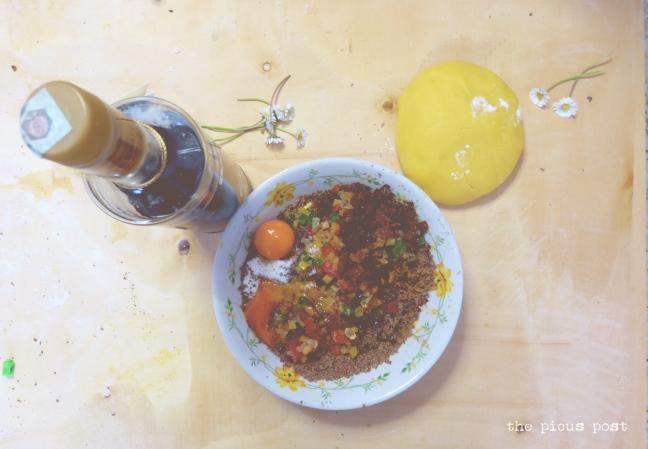 filling of sweet lamb treia macerata