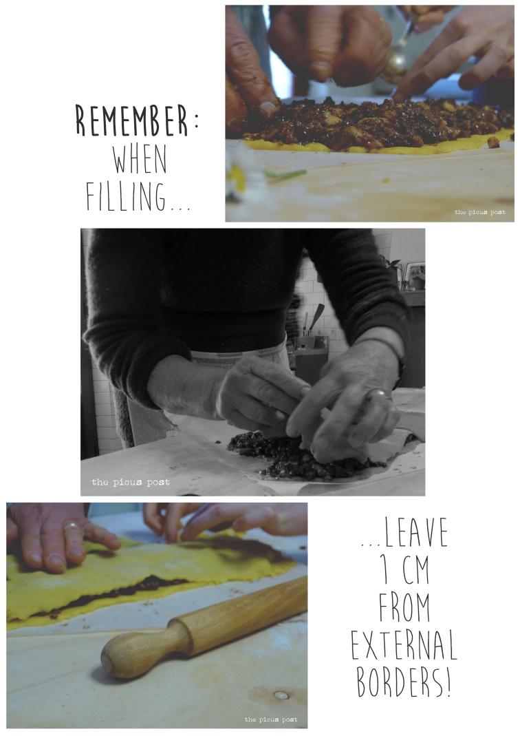 filling the dough le marche food