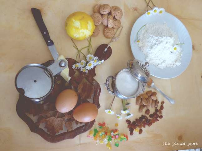 ingredients easter lamb macerata