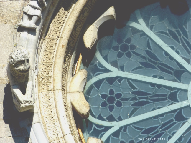 art italy town osimo cathedral window