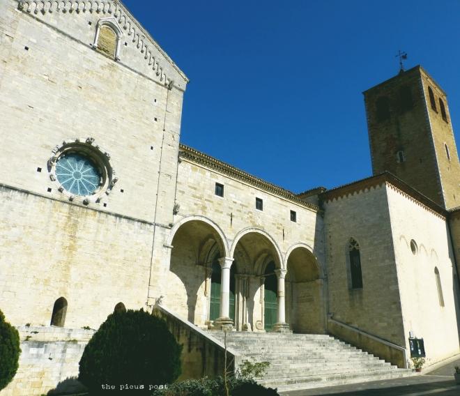 central italy town osimo cathedral templar