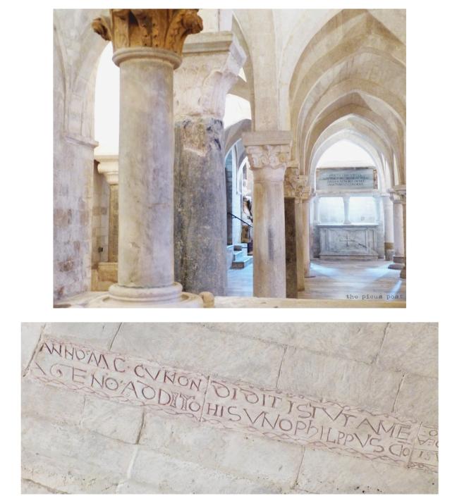 crypt gothic osimo italy