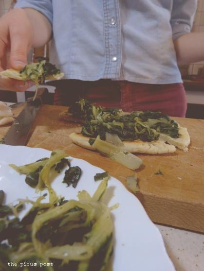 crescia and wild herbs le marche recipe