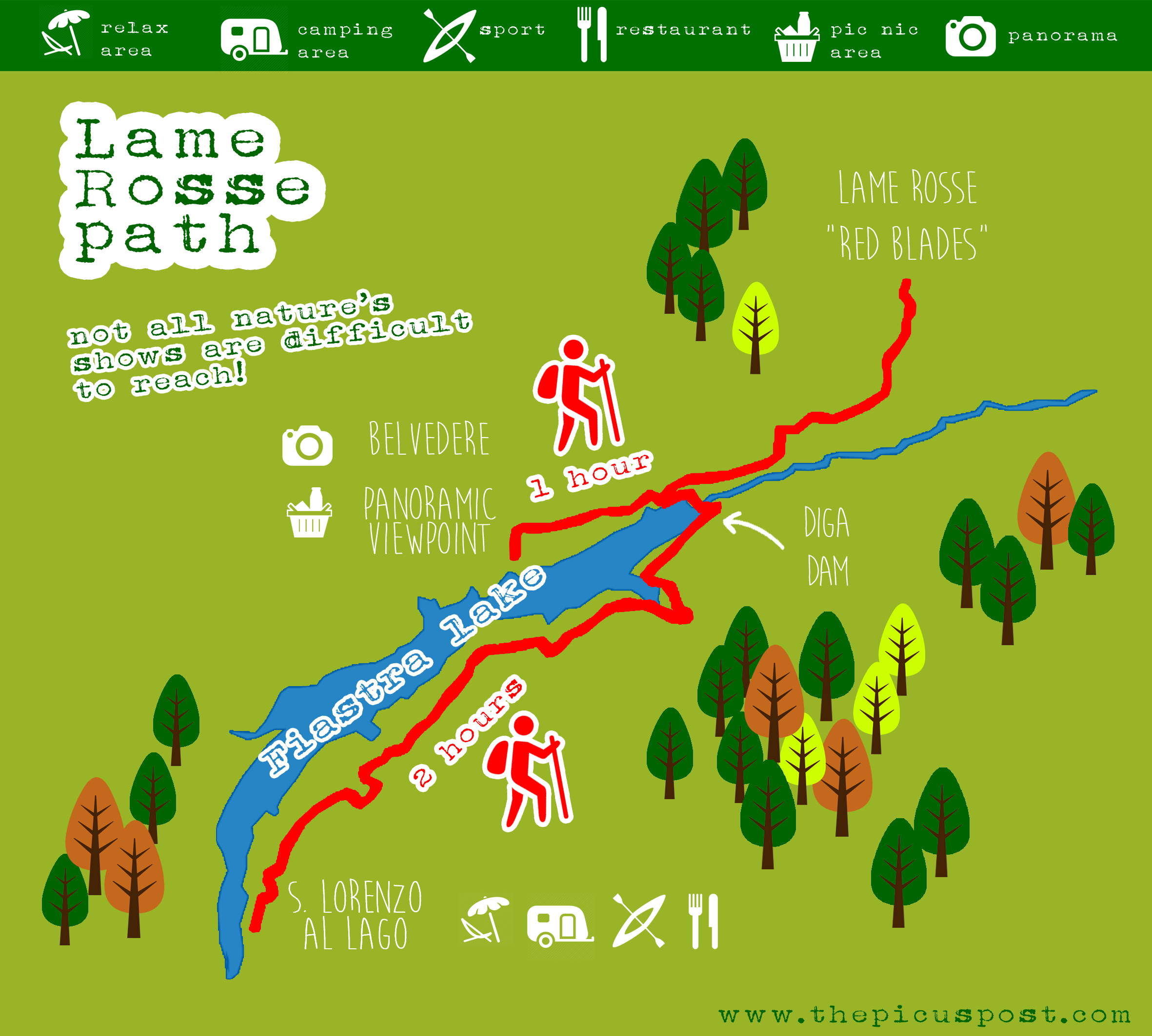 lame rosse path map fiastra