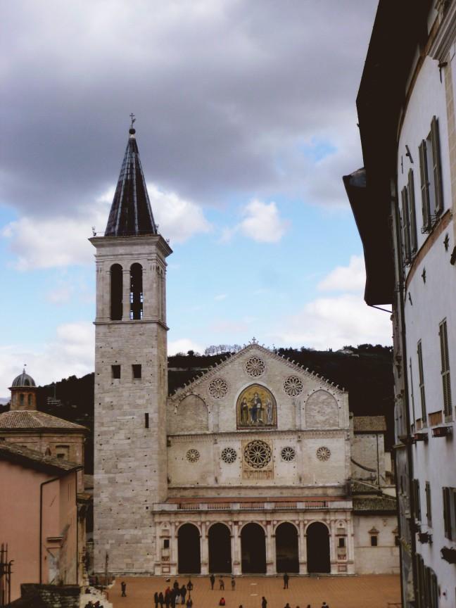 spoelto santa maria assunta cathedral