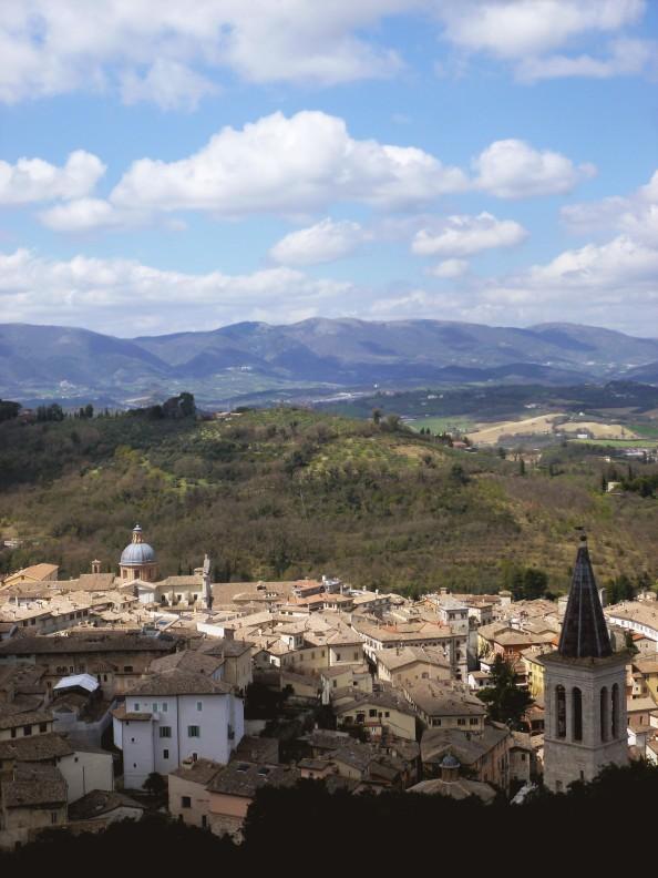 spoleto village umbria